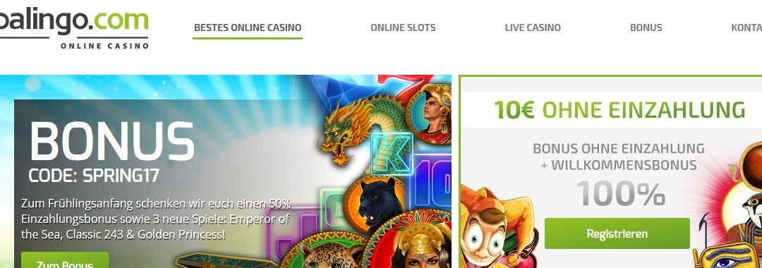 Lapalingo: ein neues & interessantes Casino